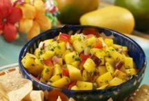 Salsa Recipes / All my favorite homemade salsa dips.  Homemade is best.