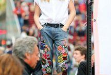 Calça jeans  Denin pants / Calças jeans inspirações. Denin inspiration