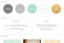 Feeling creative. // Color Inspiration / Pretty color palettes for design inspiration.