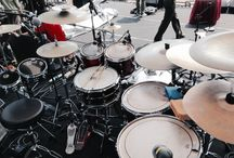 Yose Kristian Drums setup!! / In TOP Concert , Cilangkap 2014. Iwan Fals & Band. #Music #Indonesia #YoseKristian | Twitter : @yosekristian12