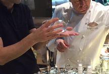 """TROPHEES INPI 2014 / Dans le cadre des Trophées INPI 2014, le Chef Thierry Marx et le chimiste Raphaël Haumont ont mis en scène hier au Mandarin Oriental, différentes innovations culinaires, entre tradition et innovation, cuisine et recherche. Un bel exemple de """"mixagination"""". Fabuleux!"""