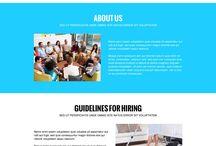 Landing page design trend 2015 / Latest landing page design trend 2015