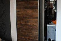 Drzwi przesuwne do łazienki / Drzwi przesuwne sprawdzają się świetnie do łazienki. Własne prace i inspiracje
