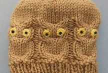 Knitted hats / Owl hat