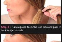 Włosy - upięcia, fryzury