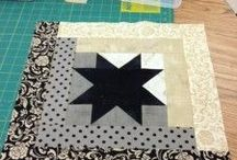 Log cabins quilting