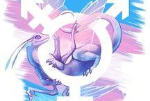 trans pride ️