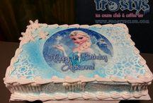 Kindergeburstag Torte Elsa