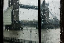 Rain is beautiful / Enjoy the natural beauty of wet weather.