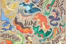 Искусство с драконами