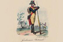 Gendarme d'Elite à pied / (Francouzské četnictvo - Napoleonika)