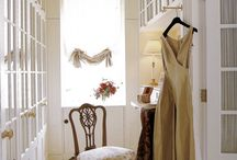 Walk in Closet / Ideas to use in my home in making. This particular room is to be shabby-chic.