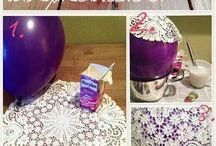 Paper doily bowl