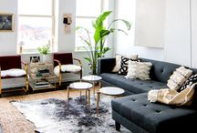TAILORED SPACE // living rooms / Living rooms we are inspired by for our own work here at Tailored Space Interiors.