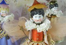 muñecas porcelana / cabezas