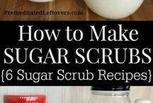 DIY scrub recipes
