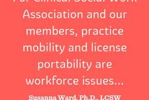 Mobility / Check out ASWB's mobility site: http://movingsocialwork.org/
