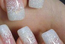 zimní nehty