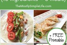 Recipes - Meal Plans