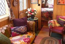 Glamping West Wales / Shepherds' huts, wagons, yurts and more: beautiful homes in miniature. Holiday differently.