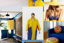 Color Inspiration / Inspiration doesn't always have to come from makeup.  Fun color combinations from around the net.
