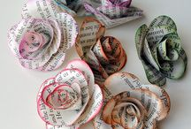 Paper Flowers & Fabric Flowers / by Mari DeeDee