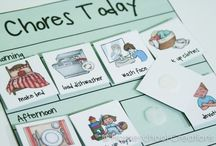 Preschool charts