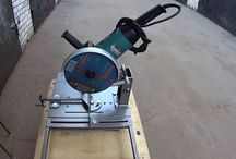 chopsaw from grinder