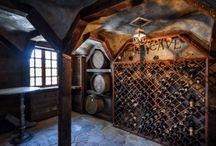 interiér - vínna pivnica