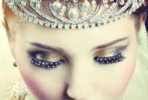 """Fashion - I Need a Crown / My dentist said I need a crown, and I said """"I know!""""  Please let me know if you see duplicate images, all the sparkles dazed my eyes and brain.  / by Miss Dawn"""