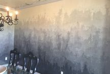 Градиент на стене