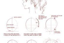 Manga/anime drawings and stuff