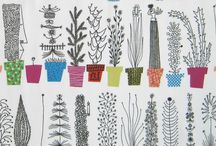 Garnish illustration ideas