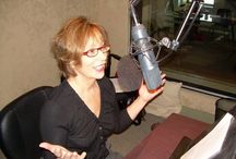 In The Studio / Our narrators doing what they do best!