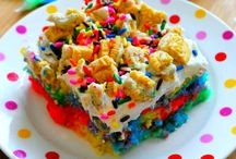 Party ideas / I love rainbow and super duper love Oreos