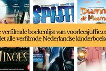 challenge: (alle) verfilmde Nederlandse kinderboeken lezen / Ik heb alle verfilmde Nederlandse kinderboeken voor je op en rij gezet. Laten we ze samen gaan lezen en bekijken! vink aan welke jij al hebt gelezen/gezien. nodig gerust al je vrienden uit om met ons mee te doen! Veel leesplezier gewenst!  http://www.voorleesjuffie.com/ maakt lezen leuker en nuttiger