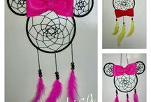 Handmade dreamcatchers / Saját készítésű álomfogók