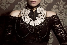 Dark Fashion / Steampunk, Neo-Victorian, Gothic Lolita, and Wa-Loli fashion ideas.