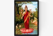 Raja Ravi Varma God Paintings