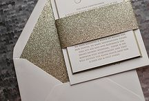 Stationery Ideas We Like / Invitations and Stationery that we have found to help get the creative brainstorming started for you. As well as invitations that we just simply liked.
