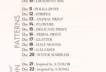 My 30 days challenge