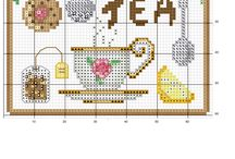 Cross stitch  (kitchen)