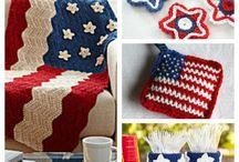 Patriotic Crochet Patterns