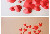 Coeur Papier Rouge
