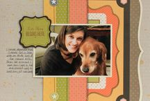 Pets Scrapbooking pages