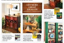 "Minwax #IDidThatSweepstakes / YOU COULD WIN $500 FOR SUBMITTING YOUR WOOD FINISHING PROJECT! 1. Join Pinterest.com, and follow Minwax on Pinterest at Pinterest.com/Minwax 2. Launch a new Pinterest board, and name it ""#Minwax #IDidThatSweepstakes"" 3. Fill this board with at least 1 pin of a wood finishing project you have completed using Minwax (photos may include before, during, and after shots). 4. Tag all the pins on the board #Minwax and #IDidThatSweepstakes 5. That's it – you're entered to win! Ends August 4th / by Minwax"