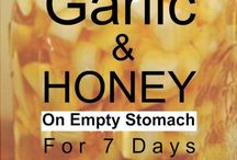garlic and honey eat for 7day