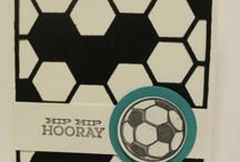 Hexagon / Stampin Up has a Thinlit and punch for perfect hexagons - there's even coordinating stamps. For all your Stampin Up goodies  - current items available to purchase from http://bagsthatone.stampinup.net/