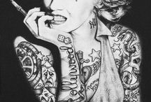 T A T T O O S / Tattoos & piercings