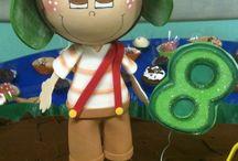 bonecos de Eva 3d